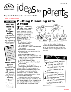 Planning into Action - Christ the Teacher Catholic Schools