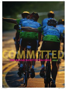 2012 PMC Yearbook - Pan-Massachusetts Challenge