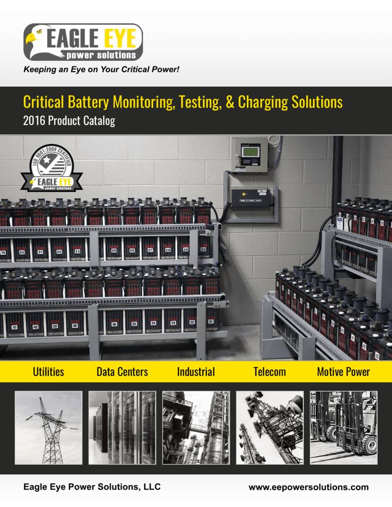 2016 Full Product Catalog - Eagle Eye Power Solutions
