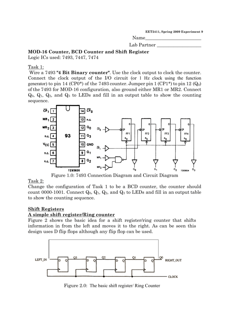 logic diagram 7493 name                         lab partner mod  name                         lab