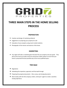 """The Three Main Steps in the Home Selling Process"""