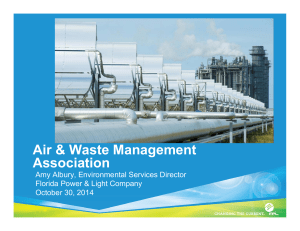 FP&L - Air & Waste Management Association
