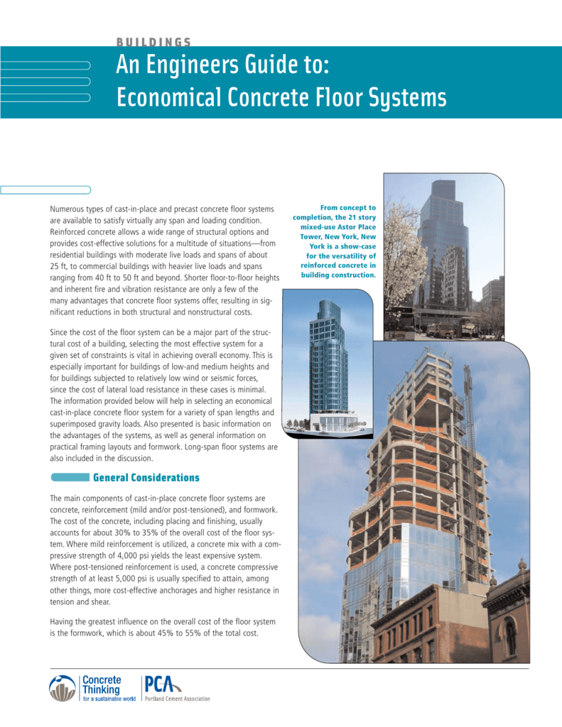 IS063 Floor Systems - Portland Cement Association