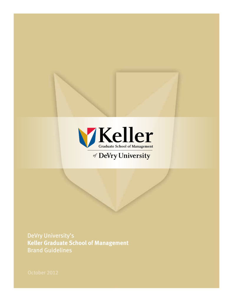 DeVry Universitys Keller Graduate School Of Management Brand - Devry university game design