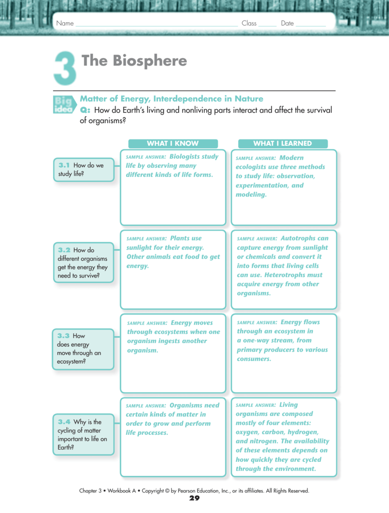 Uncategorized Pearson Education Inc Worksheet Answers 3 1 solution
