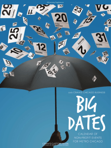 Big Dates - Crain's Chicago Business