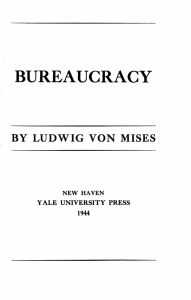 bureaucracy - Mises Institute
