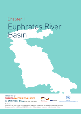 Chapter 1 Euphrates River Basin