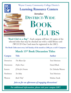 book clubs - Wayne County Community College District