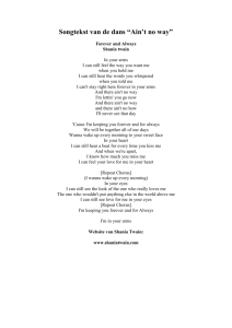 A 74 Shania Twain (lyrics)