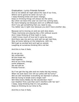 thinking about forever lyrics