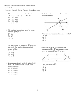 regents multiple choice questions Regents review packet - core-outline  answer the multiple choice section 4-6 questions at a time (i use a column on a page or an entire page depending on the.