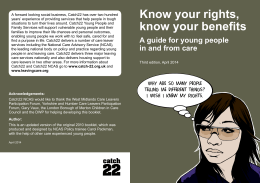 Know your rights, know your benefits