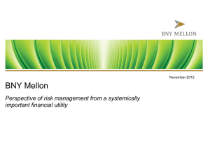 BNY Mellon - Rutgers Business School