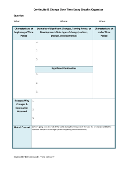 Historial Turning Points Graphic Organizer | My Worksheets ...