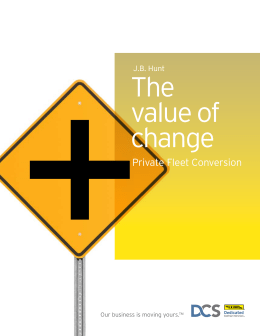 The value of change