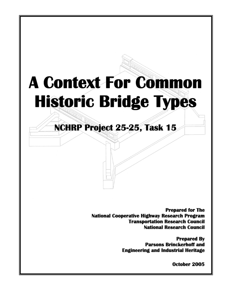 A Context For Common Historic Bridge Types Warren Truss Diagram The First Was Probably 008911446 1 41537be5aa064c481fc207d12ac550f4