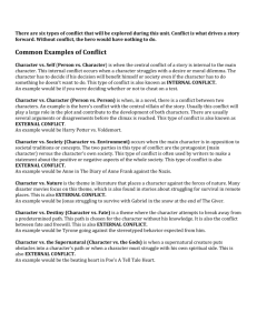 Common Examples of Conflict