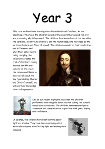 Roundheads and Cavaliers 14th May 2015