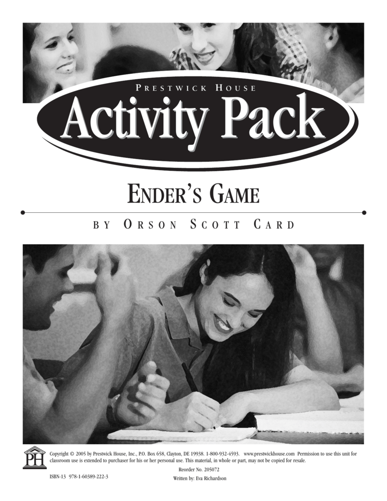 Ender S Game Activity Pack 205072 2