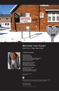 Beyond the Chief - Edgar Heap of Birds