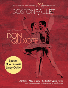 Click here for a special Spring 2012 Don Quixote Study Guide!