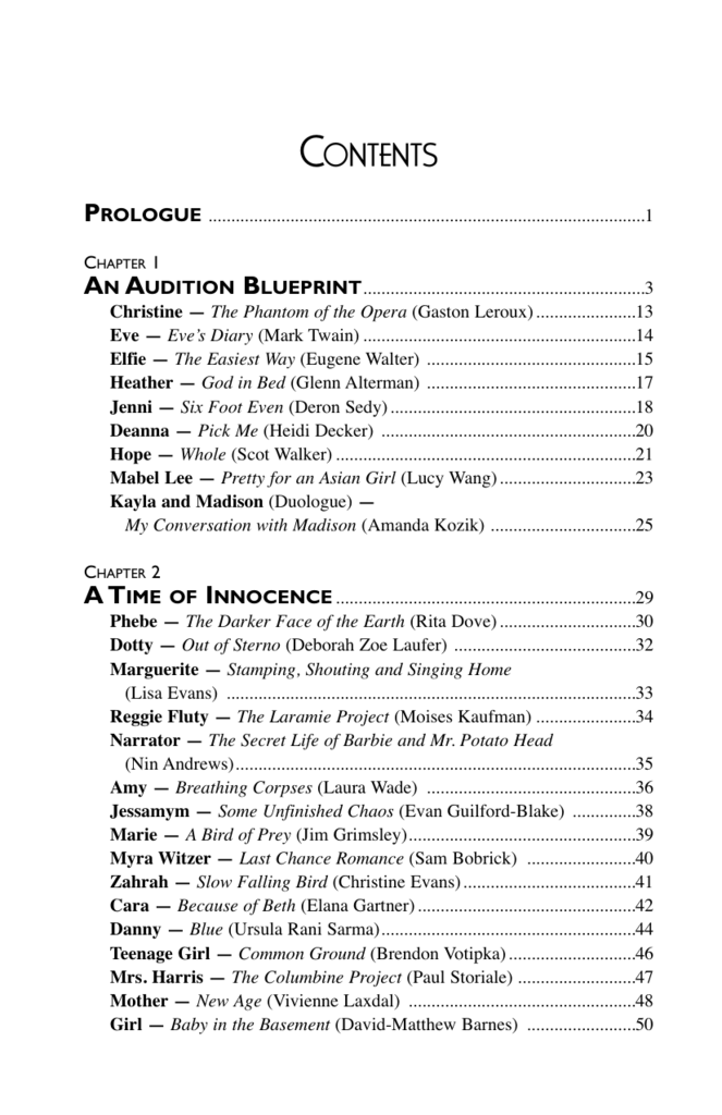 View Cast List and Production Notes
