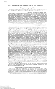 History of the Coinage Act of 1873 - Fraser
