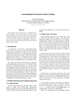 Convolutional Networks for Stock Trading