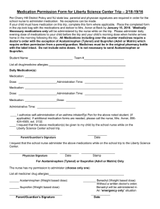 LSC Medication Form