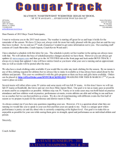 Parent Letter - Manson Northwest Webster School District
