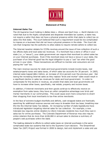 CCIM Institute's statement of policy