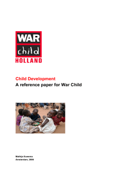Read the Reference Paper on Child Development