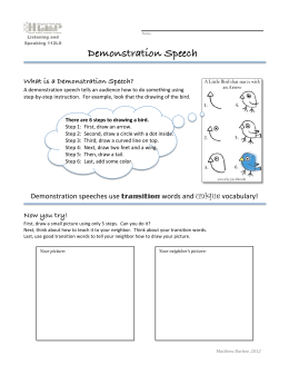 demonstration speech outline scrapbooking 100 + demonstration speech topics: plus how to develop and deliver a successful   paint eggs press flowers scrapbook make your own jewelery from antique  buttons  would you like a print-friendly blank speech outline template to use.