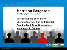 Anthem and Harrison Bergeron