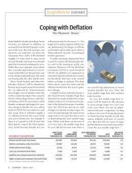 Coping with Deflation