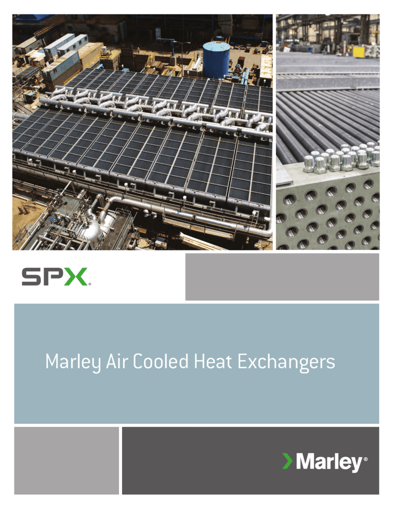 Air-Cooled Heat Exchanger Brochure indd