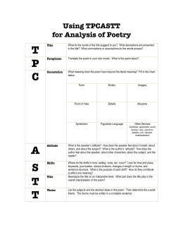 poetry analysis breathless Poetry: meter and related topics bc home  cas  tip  meter and related topics metrical analysis is the study of the rhythm of poetry generally, this analysis measures (in feet) lines of structured poems  this lack of a pause at the end of a line is called enjambment enjambment can give a hurried or breathless feel to a section of.