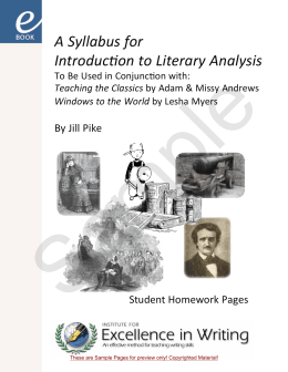 an introduction to the literary analysis of jarrell