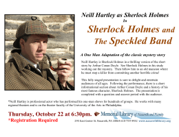Sherlock Holmes and The Speckled Band