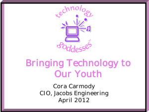 Getting our Youth Back in Technology