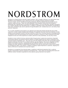 Nordstrom is a leading fashion specialty retailer founded in 1901 in