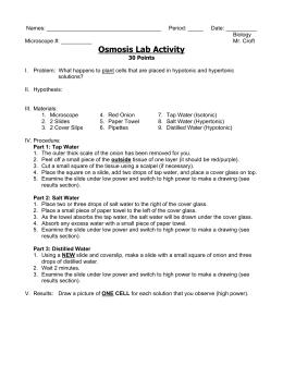 activity b osmosis
