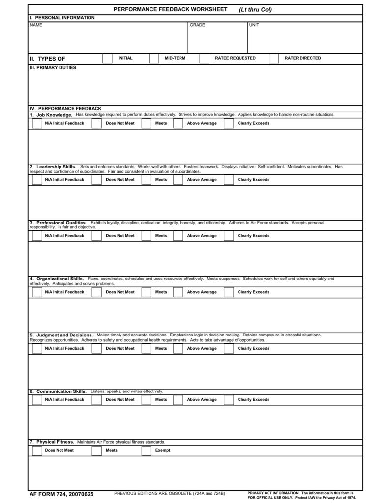 Af Form 724 P1