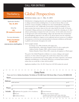 Global Perspectives - Tacoma Community College