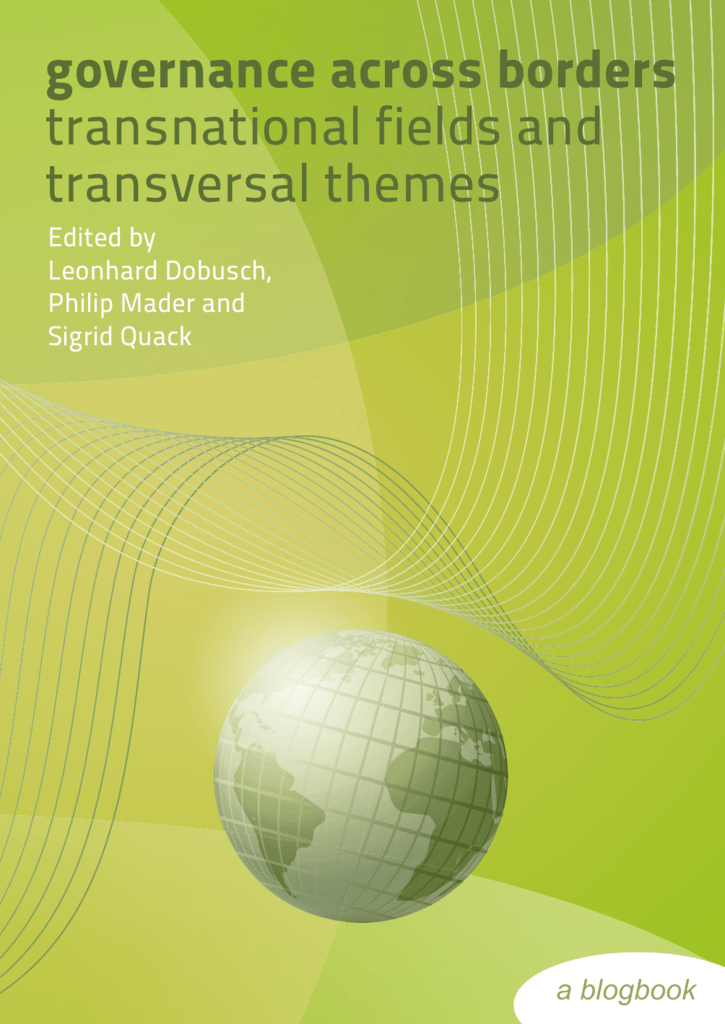 governance across borders transnational fields and