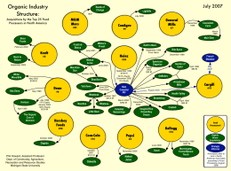 Organic Industry Structure: