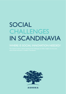 social challenges in scandinavia