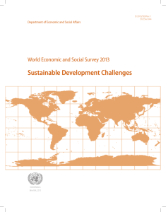 World Economic and Social Survey 2013