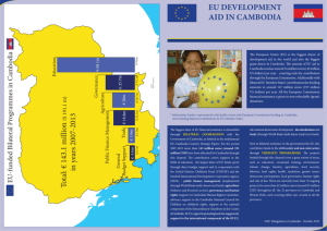 EU development aid in Cambodia 2007